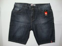 Bermuda jeans Quiksilver Tamanho 54