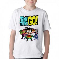 Camiseta Infantil Jovens Titãs