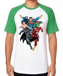 Camiseta Liga Justiça