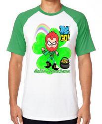 Camiseta  Robin jovens titãs Leprechaun