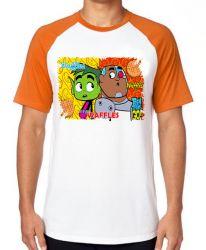 Camiseta  Jovens Titãs waffles