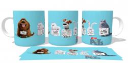 Caneca Porcelana  Pets Animais