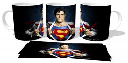 Caneca Porcelana  Superman Clark Kent