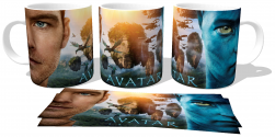 Caneca Porcelana  Avatar Jake Sully