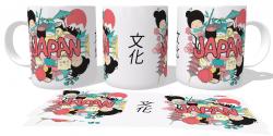 Caneca Porcelana Cultura Japão