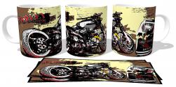 Caneca Porcelana Harley Davidson Daytona