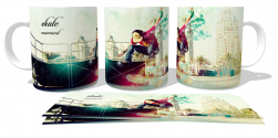 Caneca Porcelana Skate movement