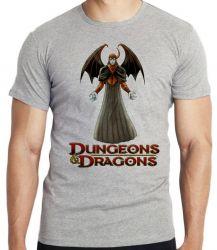 Camiseta Infantil Vingador Caverna do Dragão