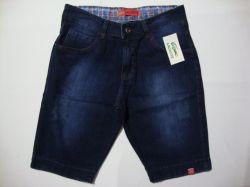 Kit 3 Bermudas jeans