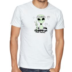 Camiseta  Alien say hello to the dumb humans