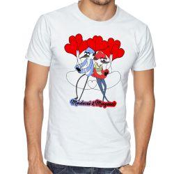 c9b948e342 ... Camiseta Apenas um show Mordecai e Margaret
