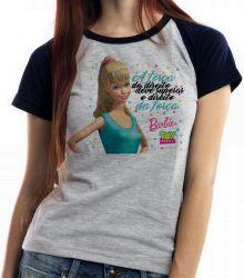 Blusa Feminina Barbie o direito da força