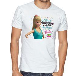 Camiseta  Barbie o direito da força