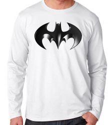 Camiseta Manga Longa Batman símbolo