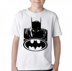 Camiseta Infantil Batman logo