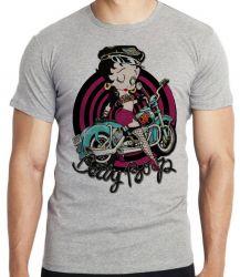 Camiseta  Betty Boop moto
