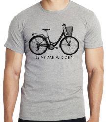 Camiseta  Bike Give me a Ride