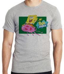 Camiseta  Bob Esponja água viva