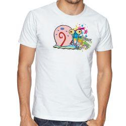 Camiseta  Bob Esponja Gary