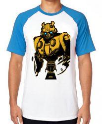Camiseta Raglan Bumblebee Fusca