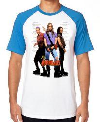 Camiseta Raglan Air Heads fichados