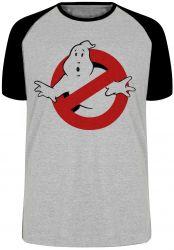 Camiseta Raglan Caça Fantasmas