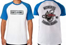 Camiseta Raglan Days Gone Emblema
