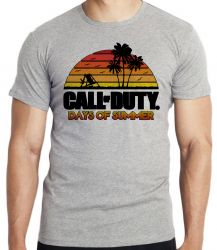 Camiseta Call of Duty Summer