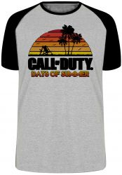 Camiseta Raglan Call of Duty Summer