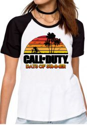 Blusa Feminina Call of Duty Summer