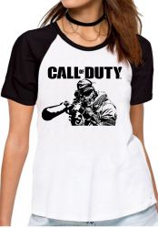 Blusa Feminina Call of Duty