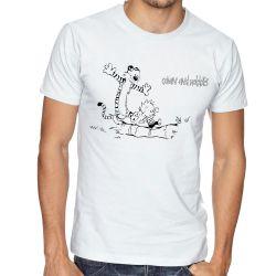 Camiseta Calvin e Hobbes