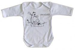 Roupa Bebê manga longa Calvin Hobbes