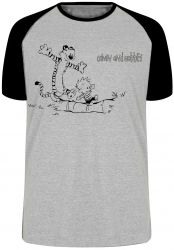 Camiseta Raglan Calvin e Hobbes