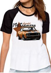 Blusa Feminina Camaro Chevrolet 1968