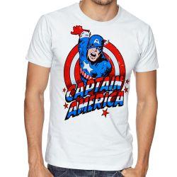 Camiseta Capitão América Cartoon