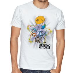 Camiseta Cartoon Network personagens