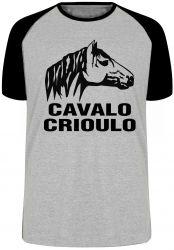 Camiseta Raglan Cavalo Criolo grande