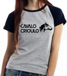 Blusa Feminina Cavalo Criolo médio