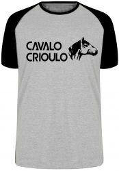 Camiseta Raglan Cavalo Criolo médio