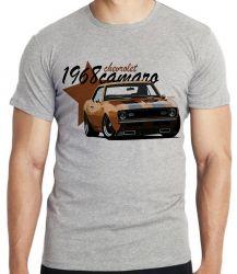 Camiseta Infantil Camaro Chevrolet 1968