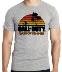 Camiseta Infantil Call of Duty Summer