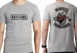 Camiseta Infantil Days Gone Emblema