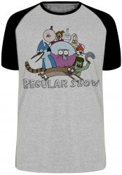 Camiseta Raglan Apenas show todos