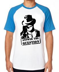 Camiseta Raglan Answer the question