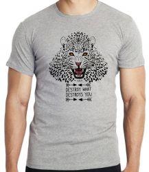 Camiseta Animais Onça Pintada