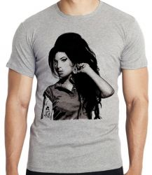 Camiseta Amy Winehouse rock