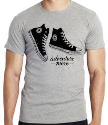 Camiseta  All Star preto more adventure