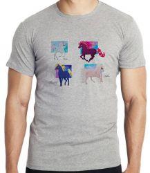 Camiseta Infantil 4 Cavalos de fogo