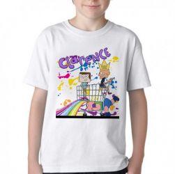 Camiseta Infantil  Clarêncio O Otimista Supermercado